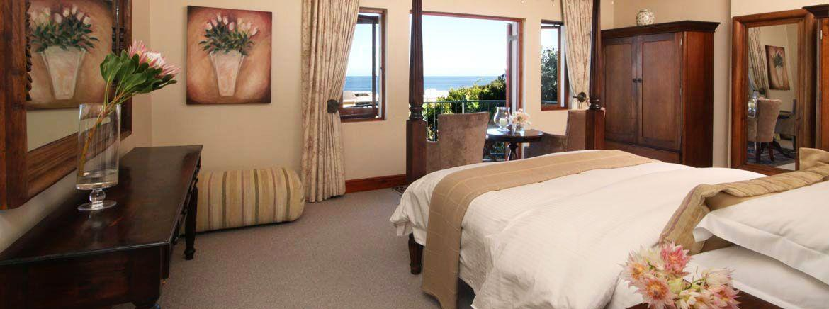 ROOM 1 - Sea Facing Suite (Upstairs) in the Lavender Manor Guest Lodge accommodation in Hermanus