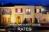 Lavender Manor Guest Lodge Rates - Accommodation in Hermanus, South Africa 2018 - 2020
