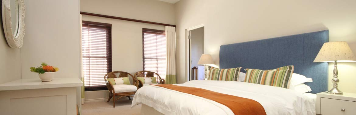 ROOM 8 - Garden View Room (Ground Floor) in the Lavender Manor Guest Lodge accommodation in Hermanus